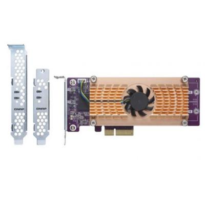QNAP  QM2 Card QM2-4S-240 Quad-M.2-2280-SATA-SSD Erweiterungskarte | 4713213512920