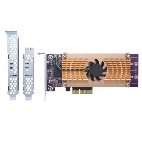 QNAP QM2 Card QM2-2P Dual M.2 22110/2280 PCIe SSD expansion card