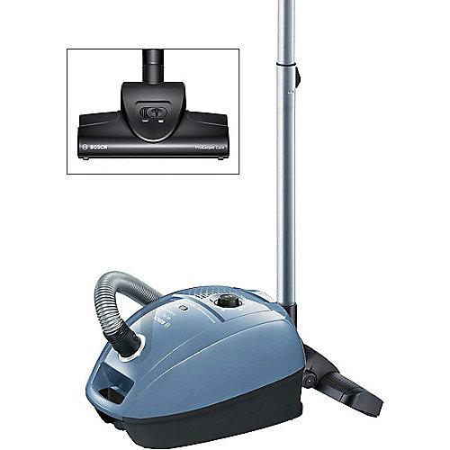 Bosch BGL3CARP ProCarpet Care Staubsauger mit Beutel EEK C silberblau