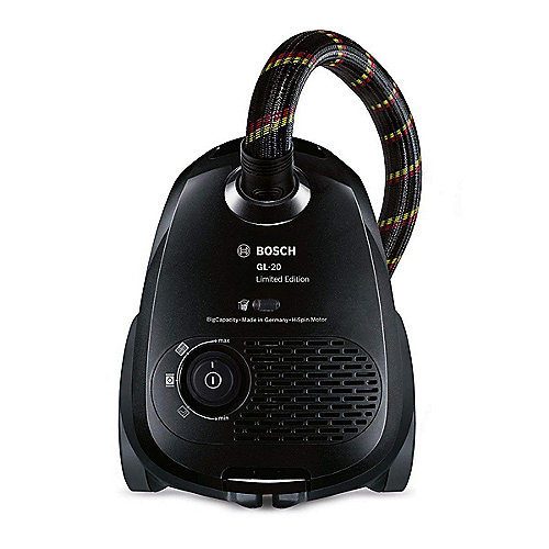 Bosch BGN2CHAMP WM Limited Edition Staubsauger mit Beutel EEK A schwarz