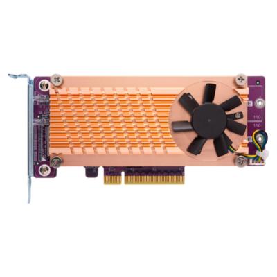 QNAP  QM2 Card QM2-2P-384 Dual-M.2-22110/2280-PCIe-SSD Erweiterungskarte | 4713213513002