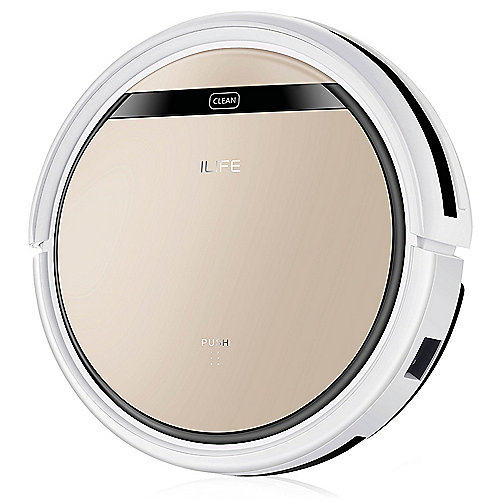ILIFE V5s Pro Staubsauger-Roboter weiß/gold