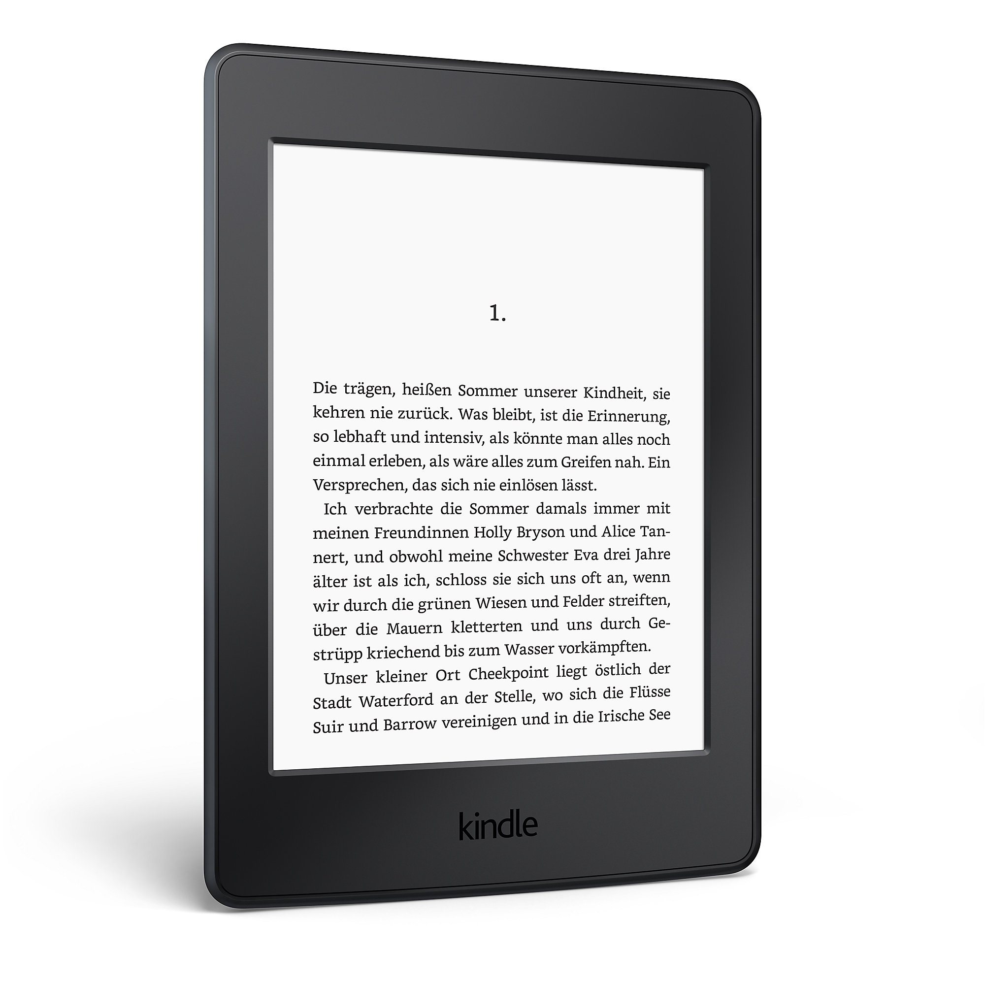 "Amazon Kindle Paperwhite 6"" eReader Wi-Fi schwarz"