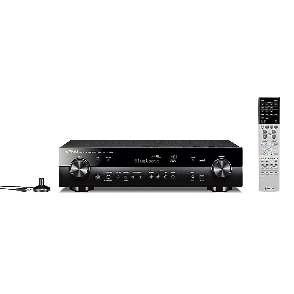 Yamaha RX-S60 5.1 AV-Receiver MusicCast, Spotify, AirPlay, DAB+, MHL schwarz
