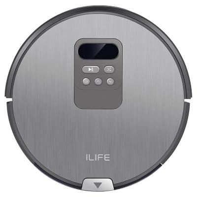 ILIFE  V80 Staubsauger-Roboter mit Wischfunktion silber/grau   4260522140240