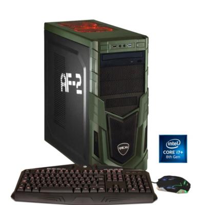 Hyrican  Military i7-8086K 16GB RAM 32GB Optane 2TB HDD 512GB SSD GTX 1080 W10   4045643059905