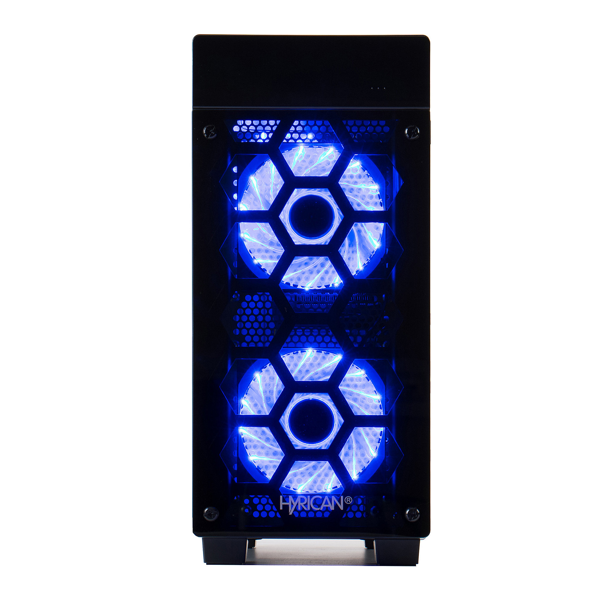 Hyrican Striker PC blue 5973 i7+8700 16GB/2TB 500GB SSD GTX 1080 W10