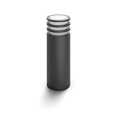 Hue White LED Sockel-/Wegeleuchte Lucca 40 cm anthrazit | 8718696166055