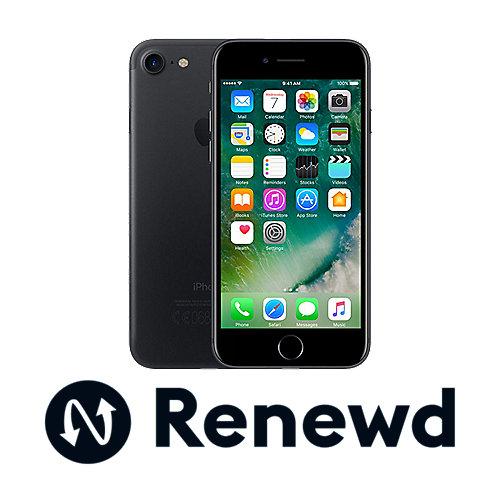 Apple iPhone 7 32 GB Schwarz Renewd auf Rechnung bestellen