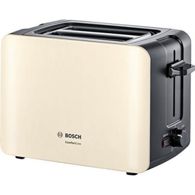 Bosch  TAT6A117 ComfortLine Kompakt-Toaster Creme   4242005072965