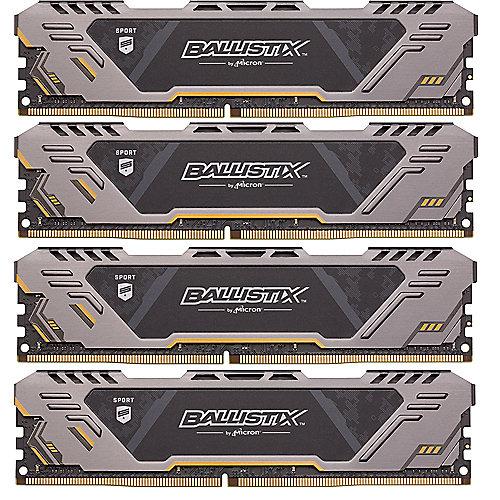 32GB (4x8GB) Ballistix Sport AT DDR4-2666 CL16 (16-18-18) RAM Speicher Kit | 0649528786722