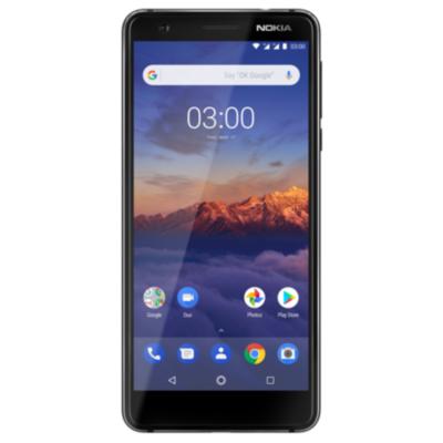 Nokia  3.1 (2018) 16GB Dual-SIM schwarz mit Android One | 6438409016409