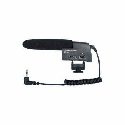 Sennheiser MKE 400 Mini-Richtrohrmikrofon für Kameras