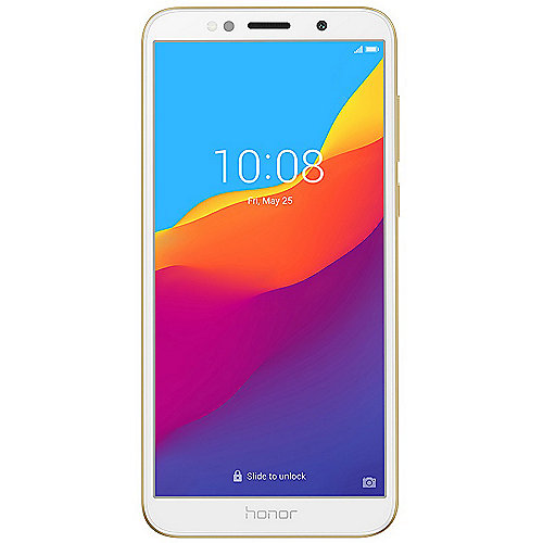 Honor 7S gold Dual-SIM Android 8.0 Smartphone