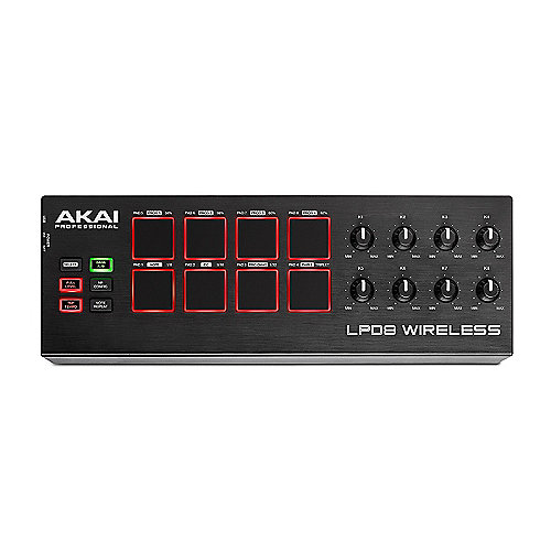 Akai Professional LPD8 Wireless Drum Pad Controller mit BT MIDI