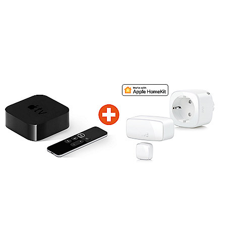 HomeKit Sicherheitspaket mit Eve Smoke & Eve Door&Window + Apple TV