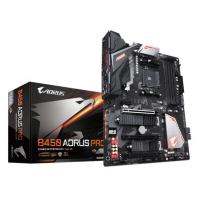 Gigabyte  B450 AORUS PRO ATX Mainboard Sockel AM4 M.2/HDMI/DVI | 4719331803841