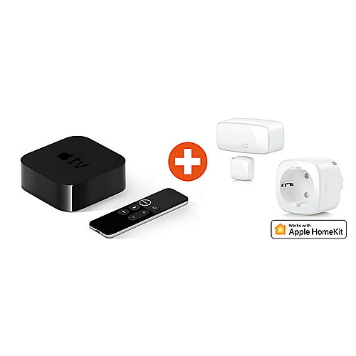 HomeKit Starter Kit mit Eve Energy EU & Eve Button & Apple TV
