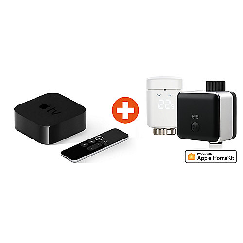 HomeKit Energiesparset mit Eve Energy EU & Eve Thermo & Apple TV