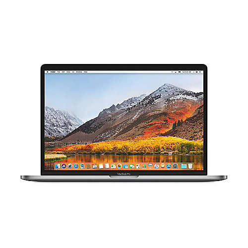 "Apple MacBook Pro 15,4"" 2017 i7 2,8/16/256GB Touchbar RP555 Silber MPTU2D/A"