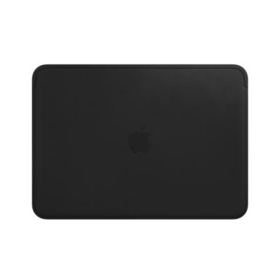 Apple  12″ MacBook Lederhülle – schwarz | 0190198798299