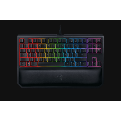 Razer  BlackWidow Tournament Ed. Chroma V2 Gaming Tastatur Yellow Switch USB DE | 8886419343820