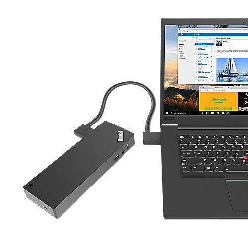Lenovo ThinkPad Thunderbolt 3 Workstation 230W Dockingstation für P52  40AN0230EU