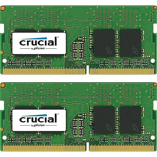 8GB (2x4GB) Crucial DDR4-2400 CL17 SO-DIMM RAM Notebookspeicher Kit | 0649528774804