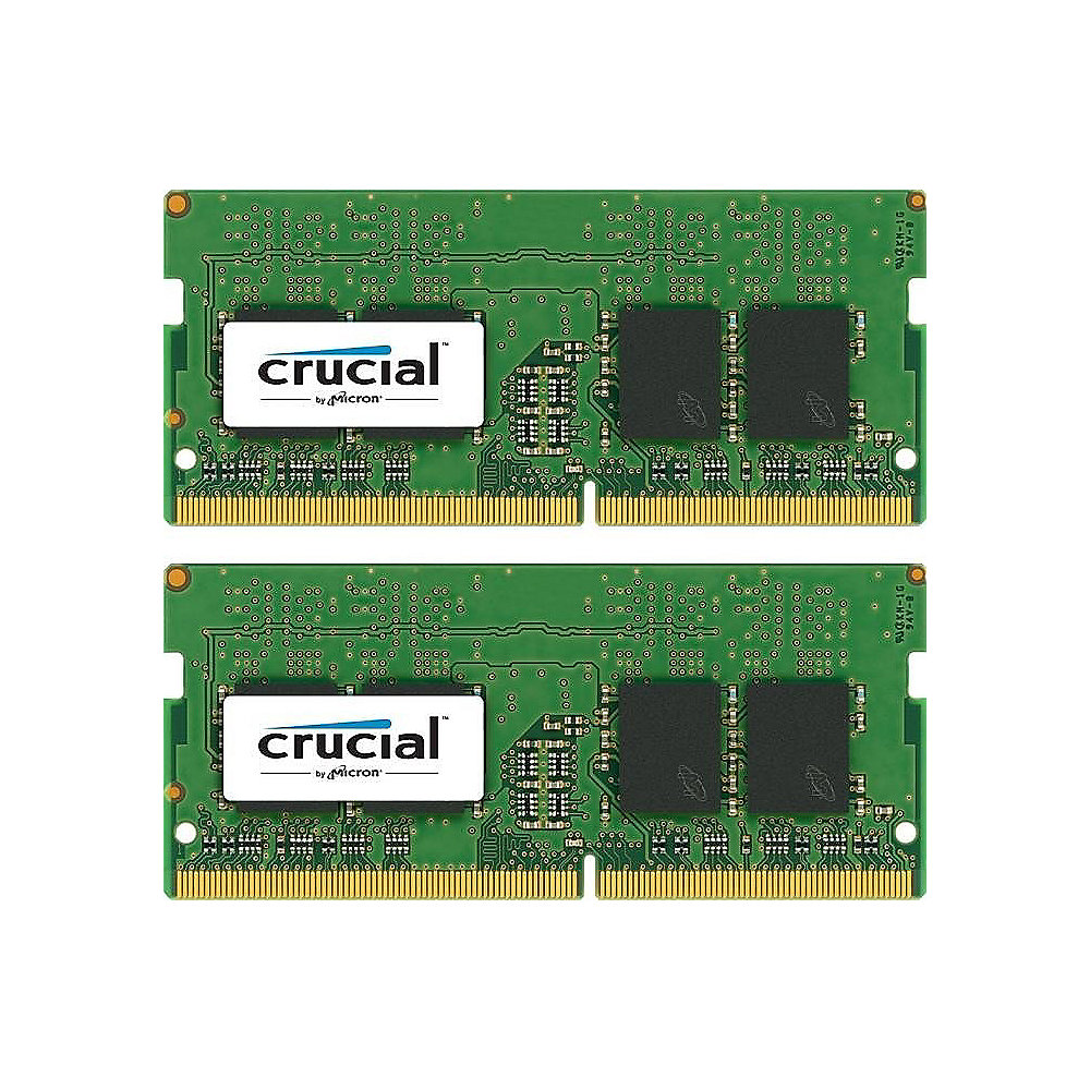8GB (2x4GB) Crucial DDR4-2400 CL17 SO-DIMM RAM Speicher Kit