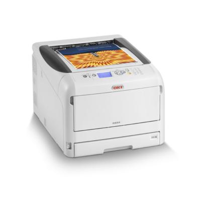 OKI  C833n LED-Farblaserdrucker A3 LAN | 5031713069058