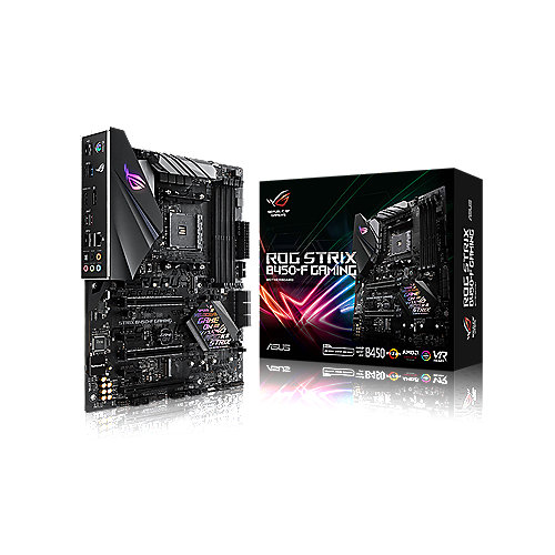 ASUS ROG STRIX B450-F Gaming ATX Mainboard Sockel AM4 M.2/USB3.1/HDMI/DP