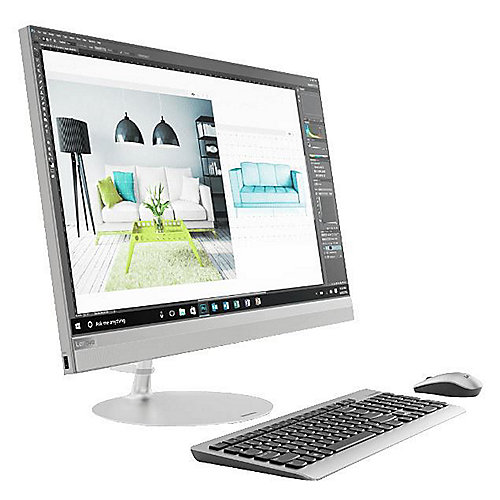 lenovo ideacentre aio 520 27icb i7 8700t 16gb 1tb 256gb. Black Bedroom Furniture Sets. Home Design Ideas