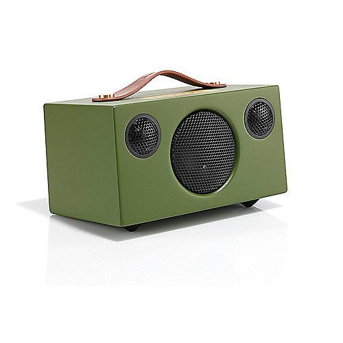 Addon T3 Bluetooth-Lautsprecher grün Aux-in