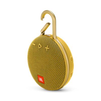JBL  Clip 3 Gelb Tragbarer Bluetooth-Lautsprecher wasserdicht nach IPX7   6925281933097