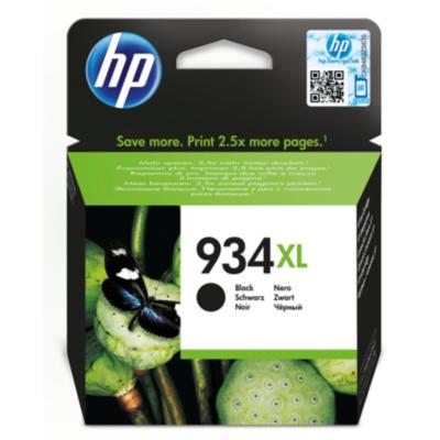 HP  934XL Original Druckerpatrone Schwarz C2P23AE | 0888182034590