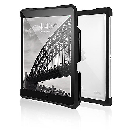 STM Dux Shell Case für Apple iPad Pro 10.5 schwarz/transparent