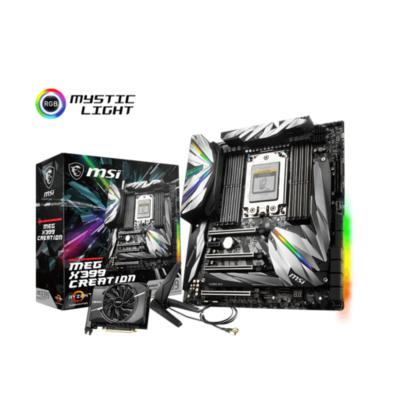 MSI  MEG X399 Creation EATX Mainboard Sockel TR4 7x M.2/2xLAN/WLAN/BT/USB3.1(C) | 4719072590024