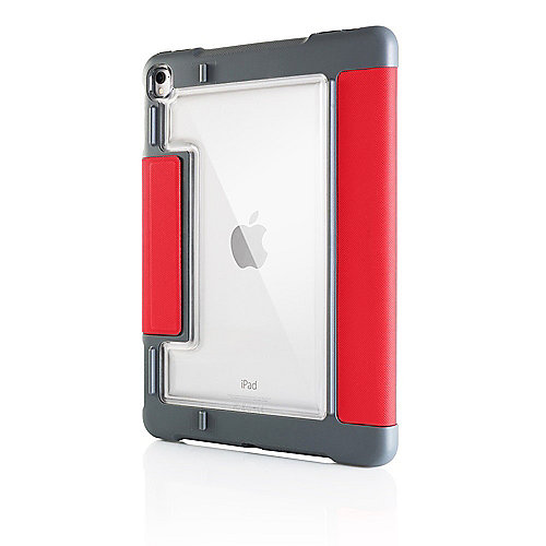 STM Dux Plus Case für Apple iPad Pro 10.5 rot/transparent