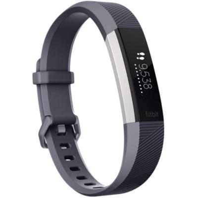 Fitbit  ALTA HR Fitness Tracker blau-grau large | 0816137024617