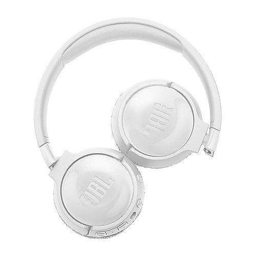 JBL TUNE 600BTNC weiß – On Ear-Noise-Cancelling Bluetooth Kopfhörer Mikrofon | 6925281932199