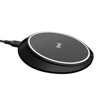 Xqisit  kabellose Schnellladestation für Apple Smartphones 10W QC schwarz | 4029948070155