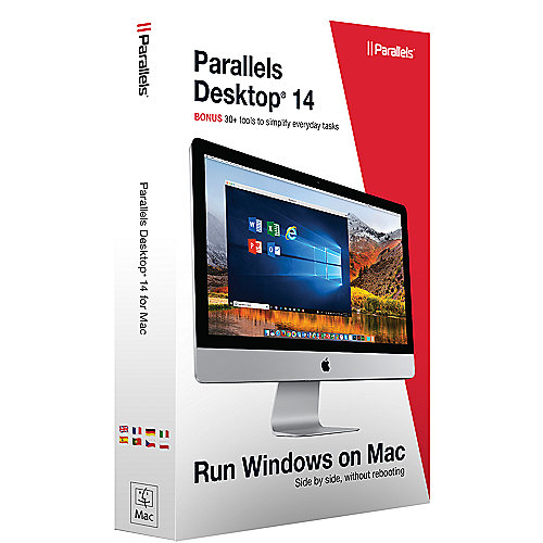 Parallels Desktop 14 für Mac Standard Edition Box, Subscription 1 Jahr