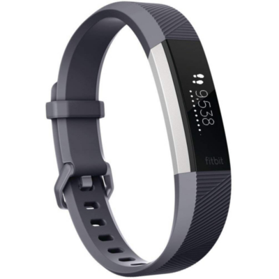 Fitbit  ALTA HR Fitness Tracker blau-grau small | 0816137024679