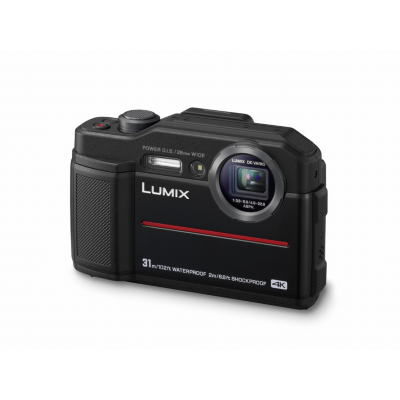 Panasonic  Lumix DC-FT7 robuste Outdoorkamera wasserdicht stoßfest schwarz | 5025232883356