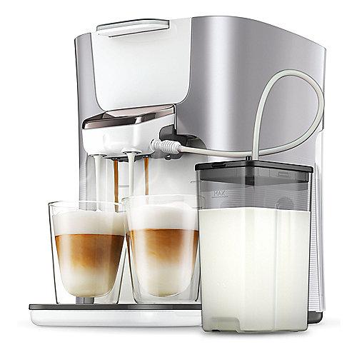 Senseo Latte Duo HD6574/20 Padmaschine mit Aroma-Boost, Pearl Silver | 8710103823254
