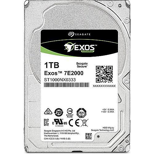 Seagate Exos 7E2000 ST1000NX0303 – 1TB 7200rpm 128MB 4KN 2.5zoll SATA600 | 8592978067410