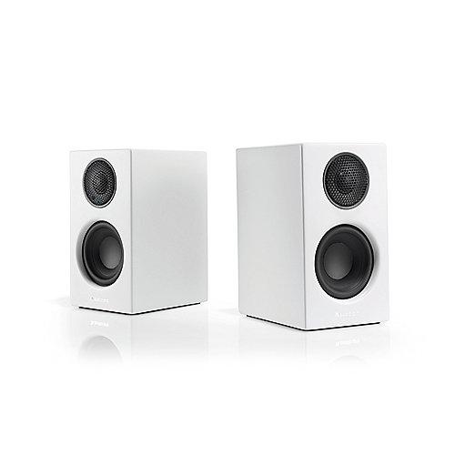 Addon T8L Bluetooth-Regal-Lautsprecher weiß Aux-in aptX Toslink | 7330117141819
