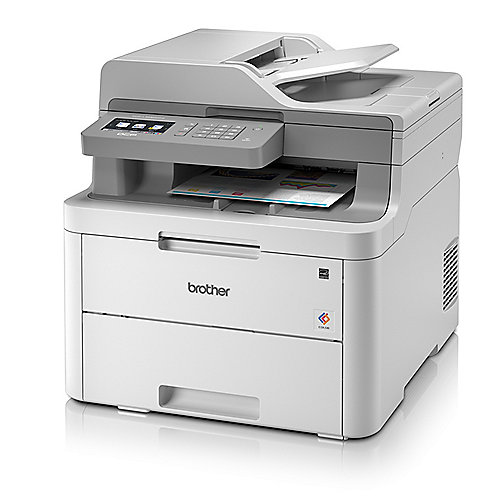 Brother DCP-L3550CDW Farblaser-Multifunktionsdrucker Scanner Kopierer LAN WLAN