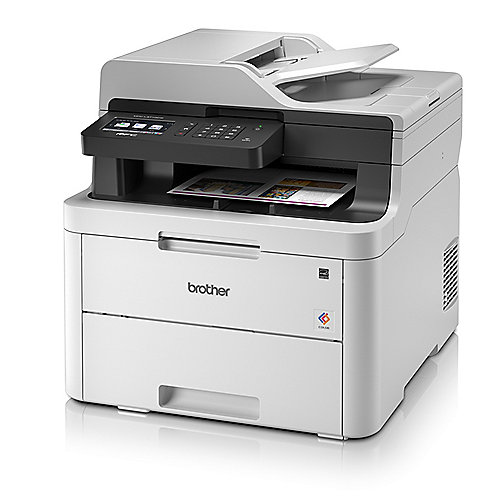 Brother MFC-L3710CW Farblaser-Multifunktionsdrucker Scanner Kopierer Fax WLAN