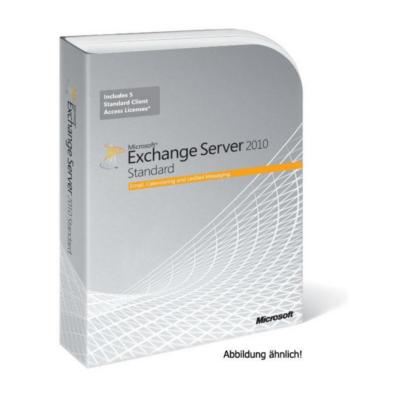 Microsoft  Exchange Server Standard Software Assurance für User CAL, Open-NL   5054484080435